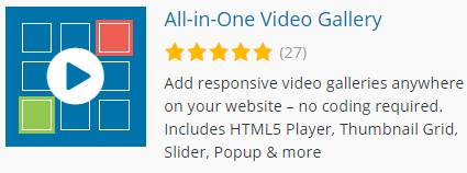 All-in-One Video Gallery