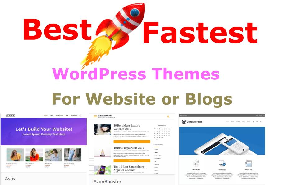 Best Fastest WordPress Themes