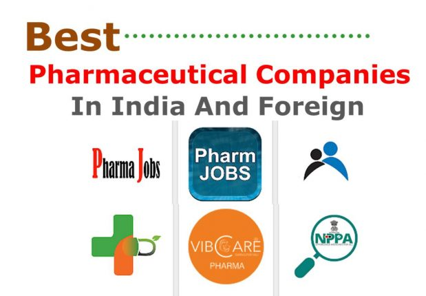 Best Pharmaceutical Companies In India And Foreign