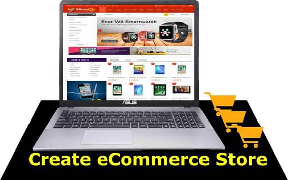 Create an eCommerce store