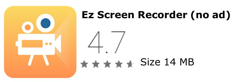 Ez Screen Recorder app