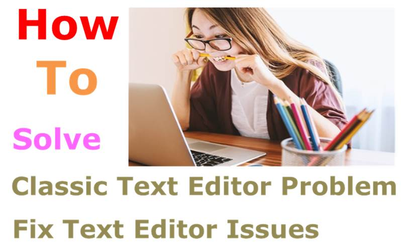How To Solve Classic Text Editor Problem