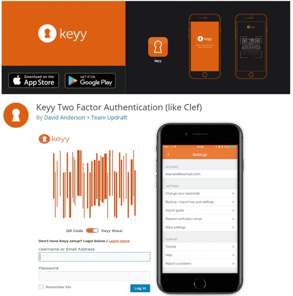 Keyy Two Factor Authentication
