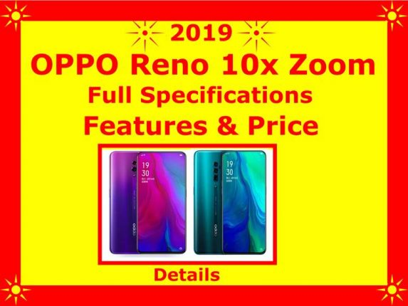 OPPO Reno 10x Zoom full specifications