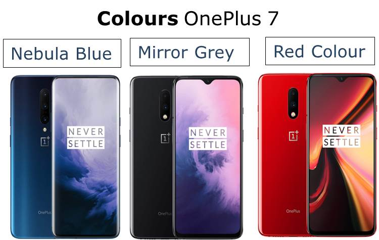 OnePlus 7 Colours