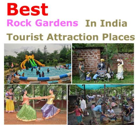 Rock Gardens Tourist Attraction Places in India