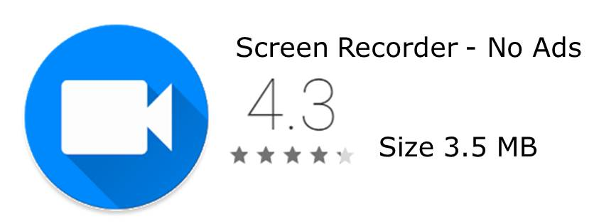 Screen Recorder No Ads