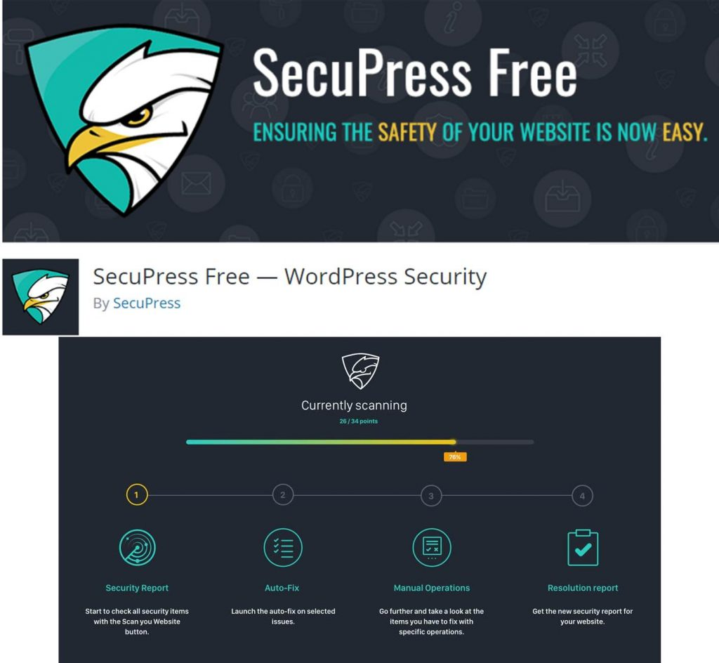 SecuPress Free plugin