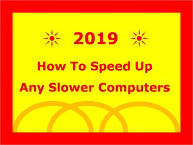 Speed up slower windows