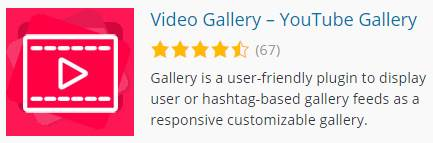 Video Gallery ,YouTube Gallery