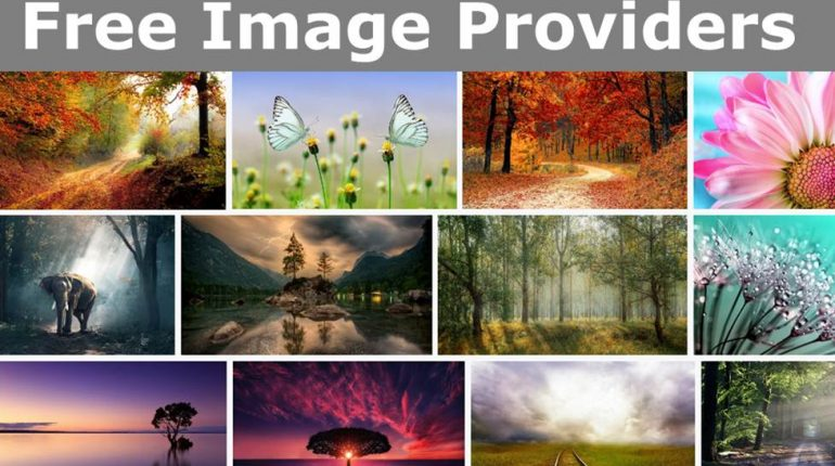 Best Free Image Providers for blogs websites