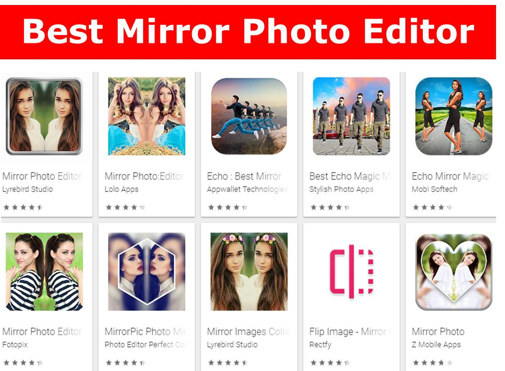 Best Mirror Photo Editor