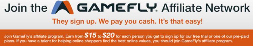 Gamefly affiliate site