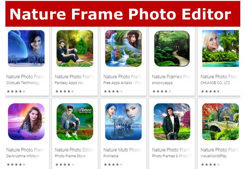 Nature Frame Photo Editor