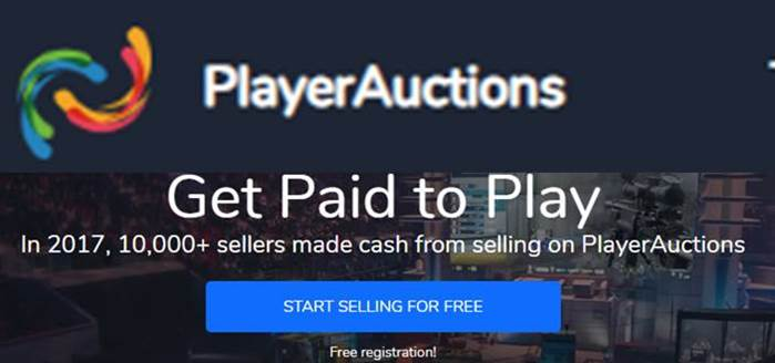 PlayerAuctions gaming affiliate