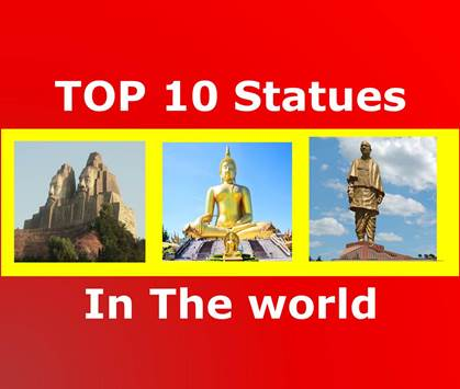 top 10 tallest statues 2019