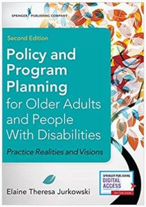 Aging Policy and Program Planning Book