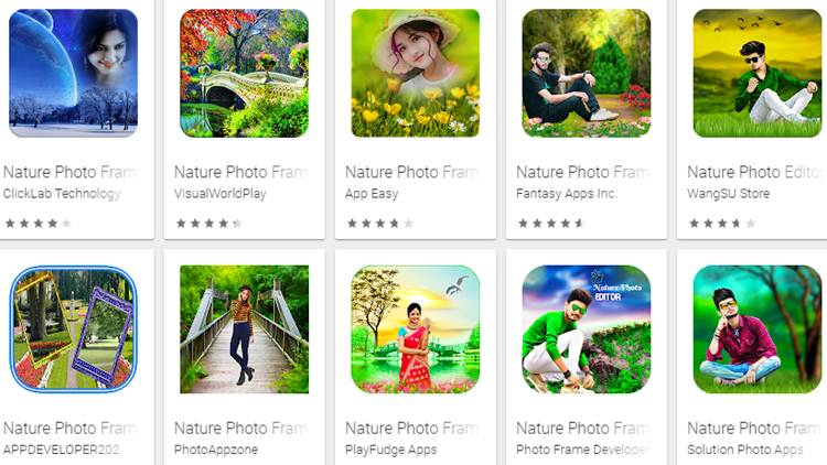 Best Nature Frame Photo Editor Apps