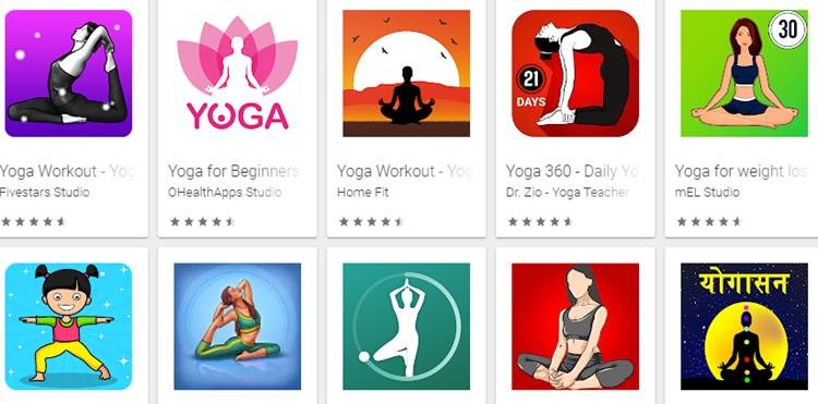 Best Yoga Apps mobile