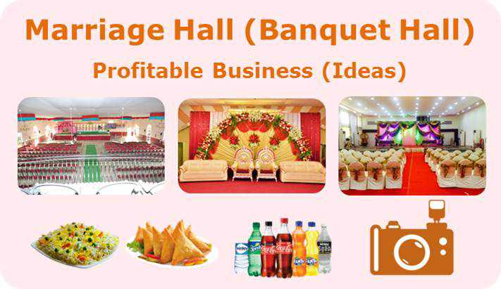 marriage hall business ideas