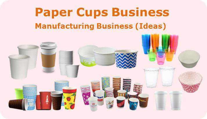 paper cups business ideas